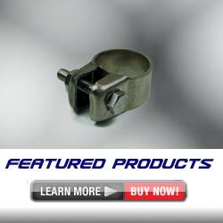경유 FF히터 배기구 클램프